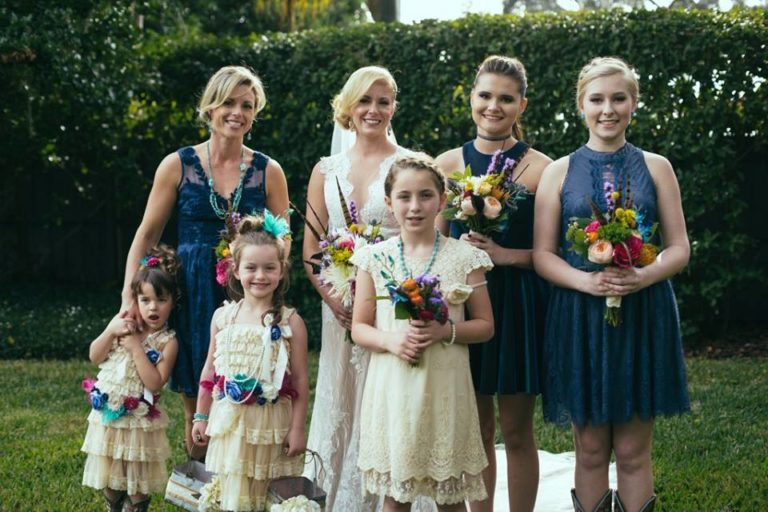 Country Wedding Bridal Party