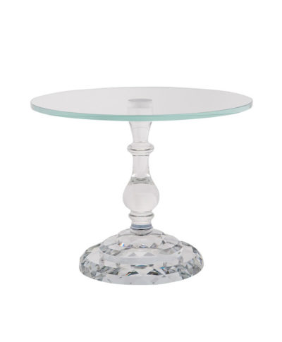 Crystal Single Dessert Stand – A Chair Affair Rentals