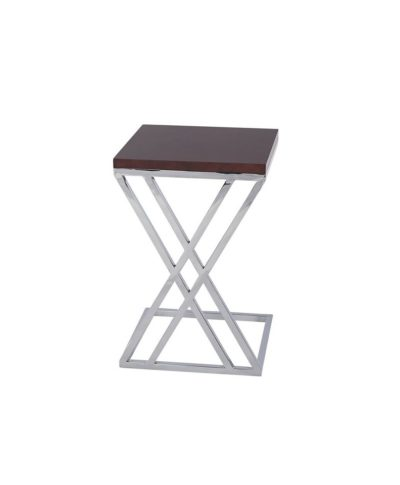 Espresso Mabel End Table – A Chair Affair Rentals
