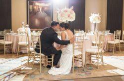 Blush and Gold Grand Bohemian Wedding