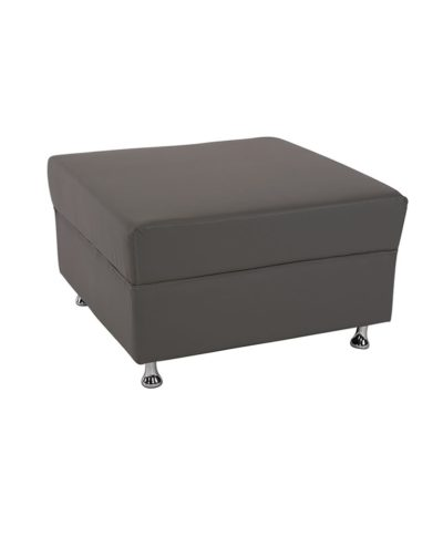 Gray Mod Ottoman – A Chair Affair Rentals