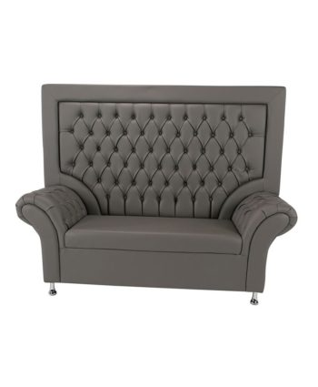 Gray Royalty Throne - A Chair Affair Rentals