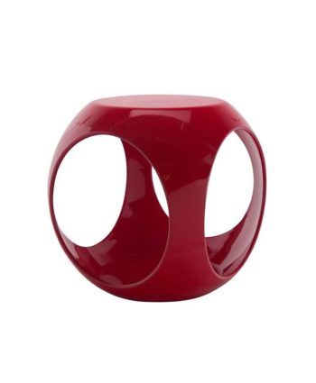 Red Rio Accent Table - A Chair Affair Rentals