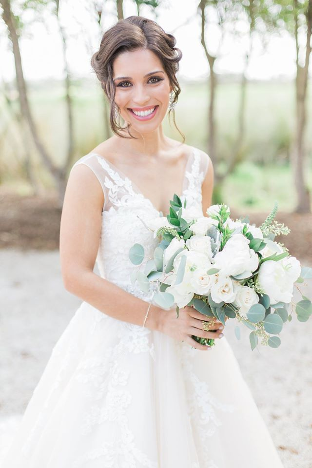 Royal Crest Wedding bride