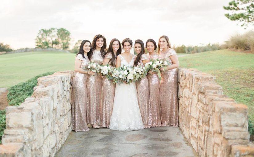 Royal Crest Wedding bridesmaids