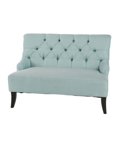 Savannah Settee Seafoam – A Chair Affair Rentals