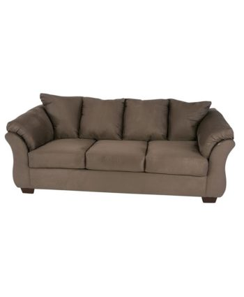Shay Greige Sofa - A Chair Affair Rentals