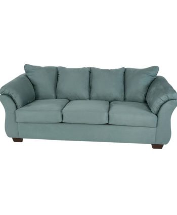 Shay Turquoise Sofa - A Chair Affair Rentals