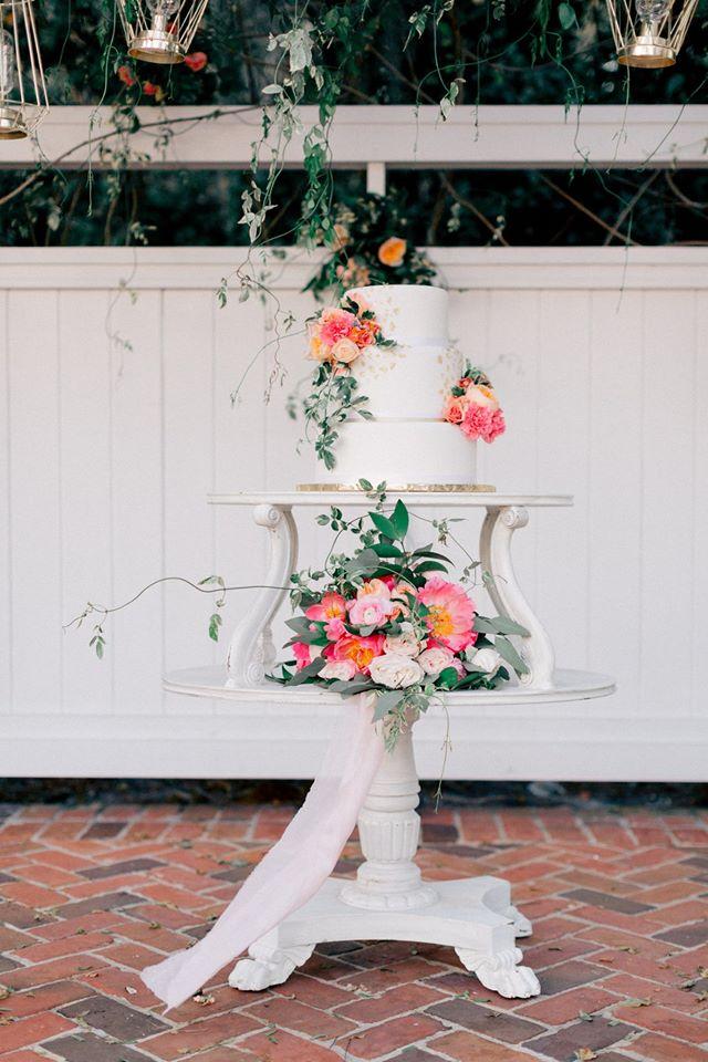 Spring Wedding Inspiration Cake