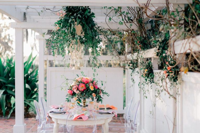 Spring Wedding Inspiration Ghost Chairs