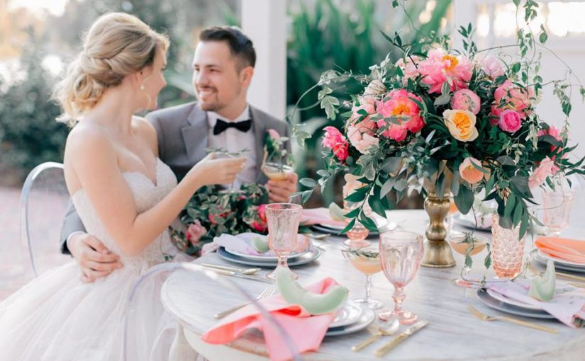 Spring Wedding Inspiration Photo Shoot