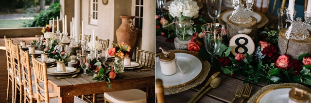 Sydonie Mansion Boho Styled Shoot table decor