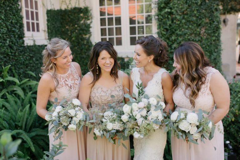 Sydonie Mansion wedding bridal party