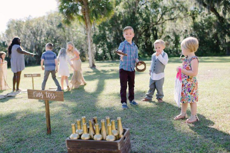 Sydonie Mansion wedding brunch games