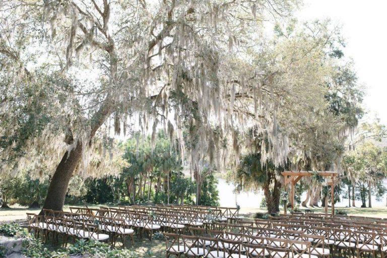Sydonie Mansion wedding ceremony
