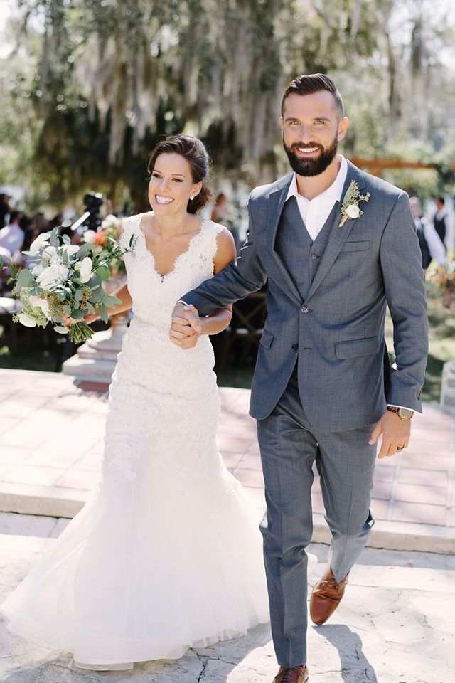 Sydonie Mansion wedding ceremony newlyweds