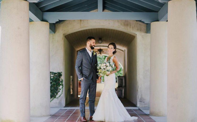 Sydonie Mansion wedding newlyweds
