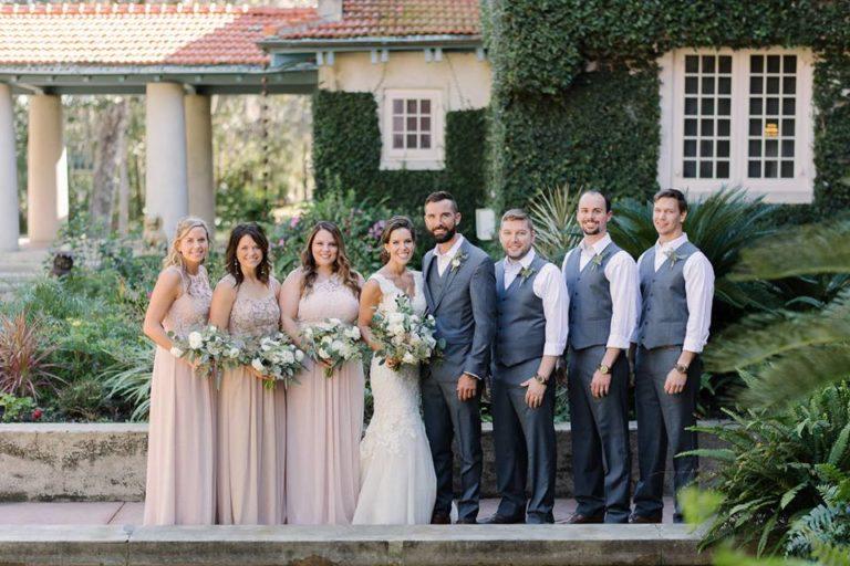 Sydonie Mansion wedding party