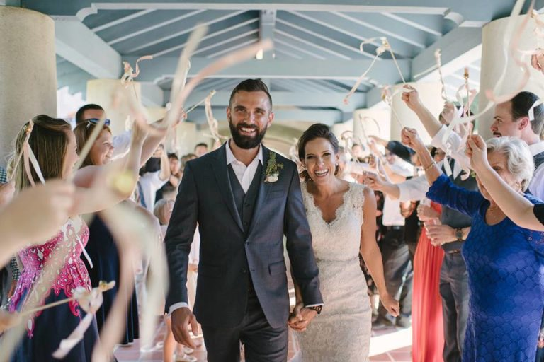 Sydonie Mansion wedding reception couple