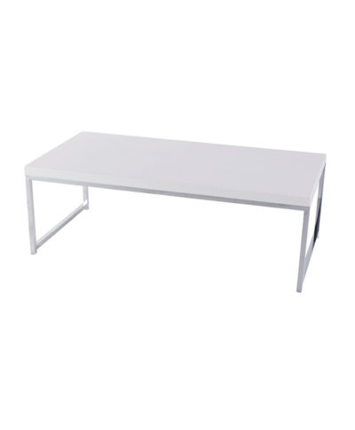 White Mabel Coffee Table – A Chair Affair Rentals