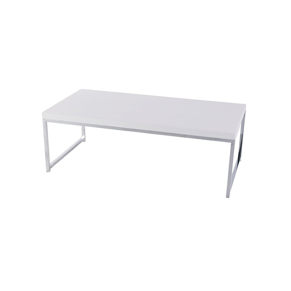 White Mabel Coffee Table - A Chair Affair Rentals