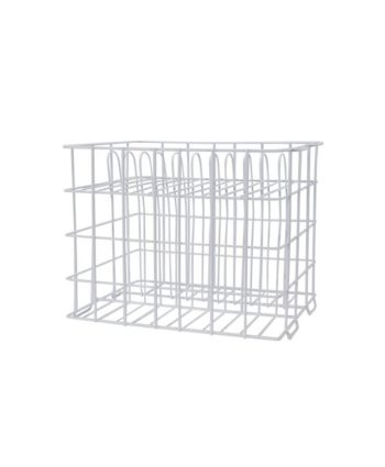 White Wire Charger Rack - A Chair Affair Rentals