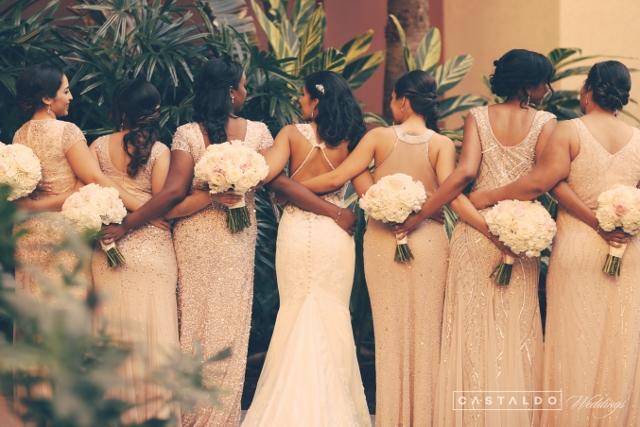 Wyndham Grand Orlando Resort Bonnet Creek bridesmaids