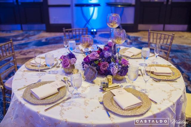 Wyndham Grand Orlando Resort Bonnet Creek table decor
