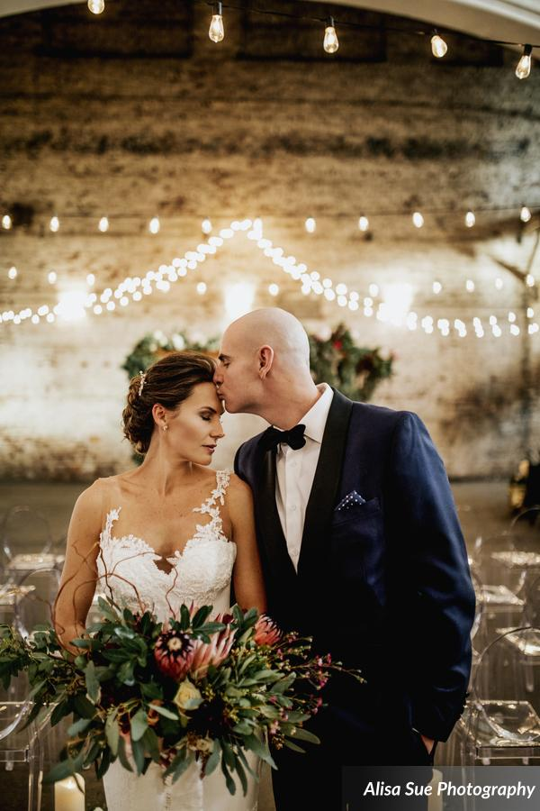 rialto theatre wedding bride and groom (3)