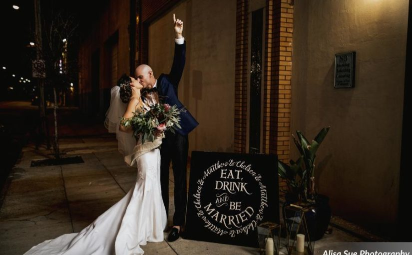 Modern & Industrial Rialto Theatre Wedding