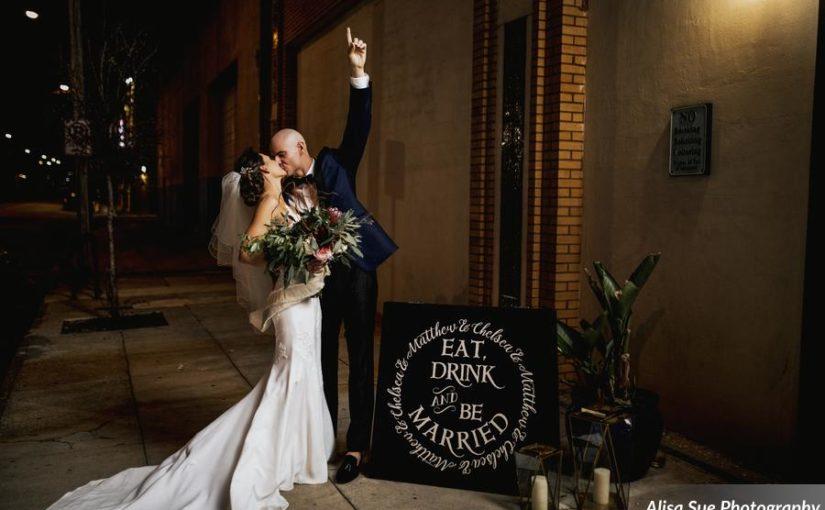 Modern & Industrial Rialto Theatre Wedding