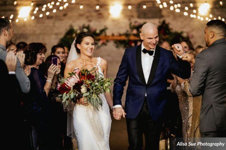 rialto theatre wedding ceremony exit