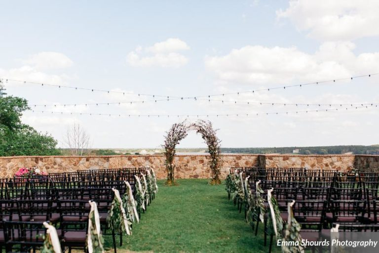 Bella Collina Sammy and Andrew, ceremony decor (2)