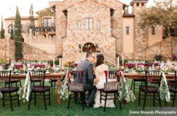 Romantic Burgundy Wedding at Bella Collina