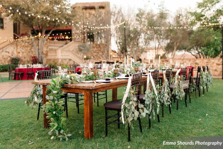 Bella Collina Sammy and Andrew, chiavari chairs