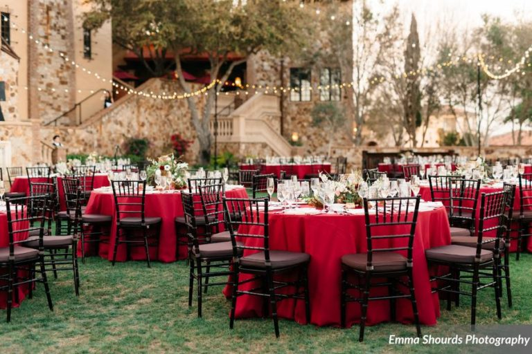 Bella Collina Sammy and Andrew, reception decor (2)