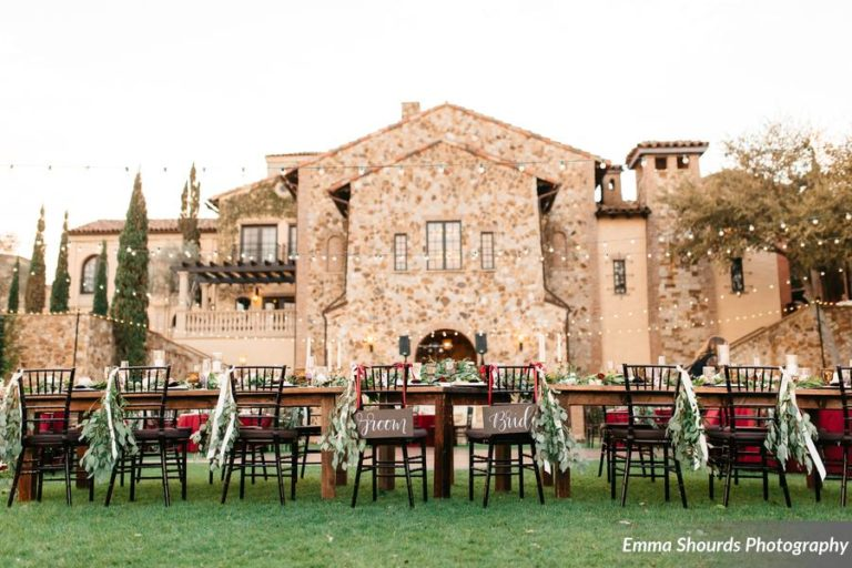Bella Collina Sammy and Andrew, reception decor