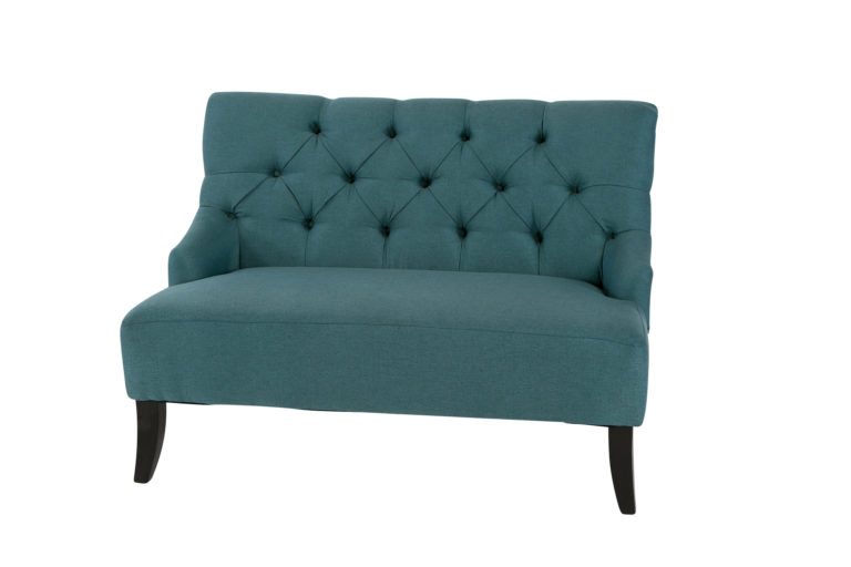 Brooklyn Settee Teal