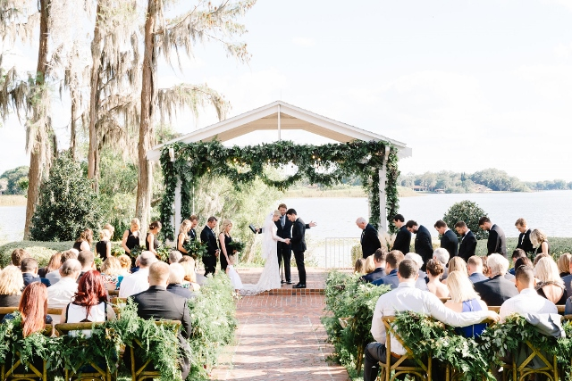 Cypress Grove Estate House Kelly and Ben, ceremony