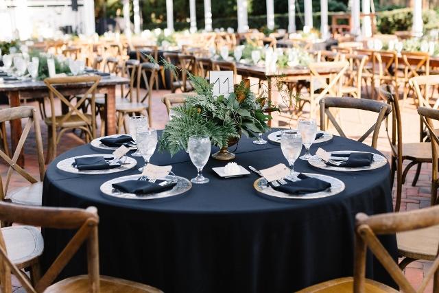 Cypress Grove Estate House Kelly and Ben, reception decor