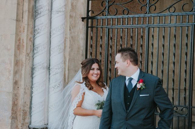 Hollis Garden Meagan and Greg, couple