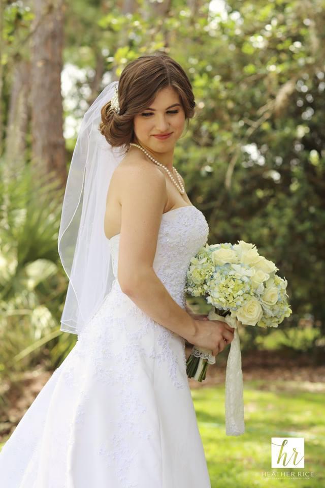 MIssion Inn Resort Wedding bride