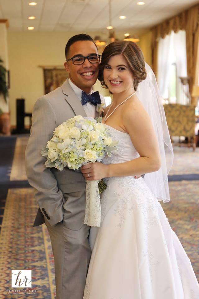 MIssion Inn Resort Wedding newlyweds