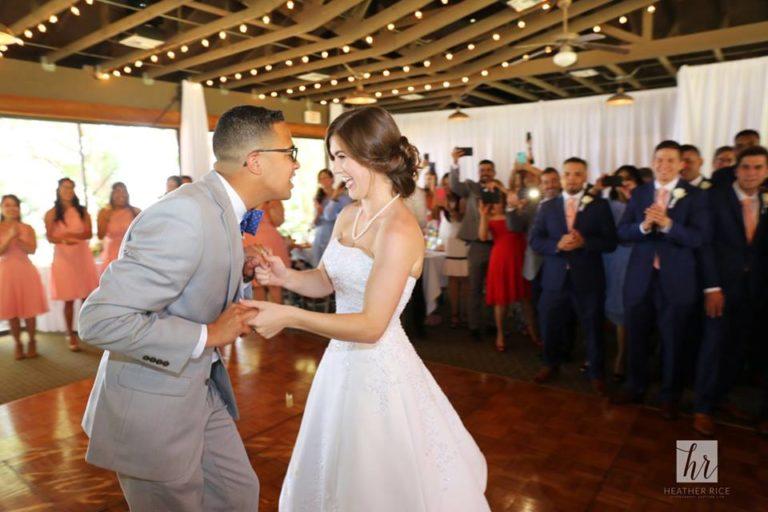 MIssion Inn Resort Wedding reception dance