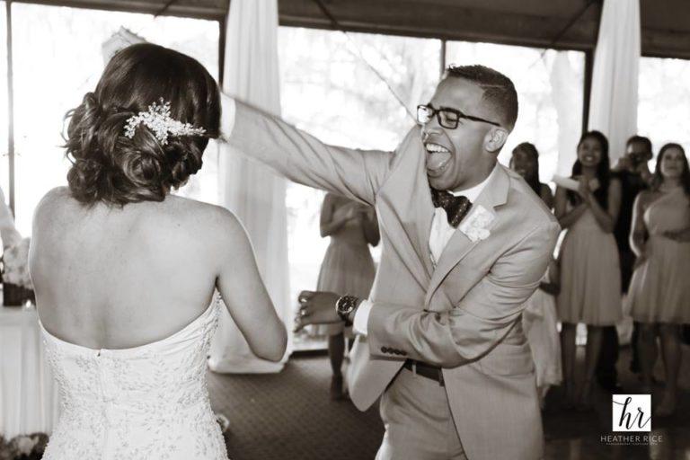 MIssion Inn Resort Wedding reception dancing