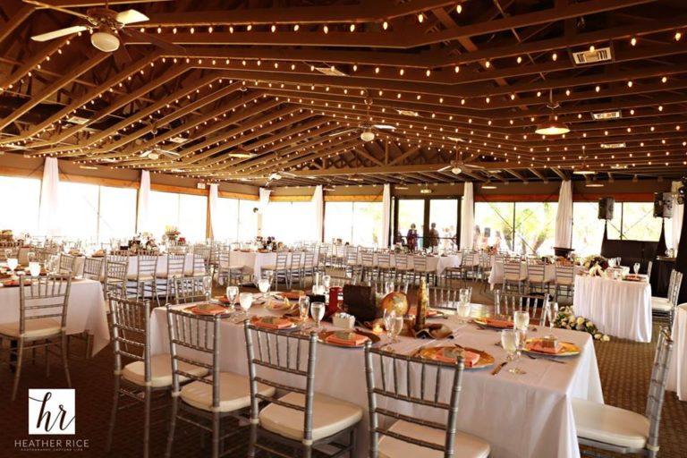 MIssion Inn Resort Wedding reception decor