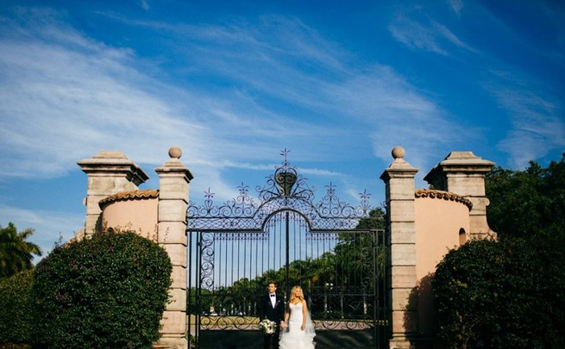 Ringling Museum Stunning Gold Wedding