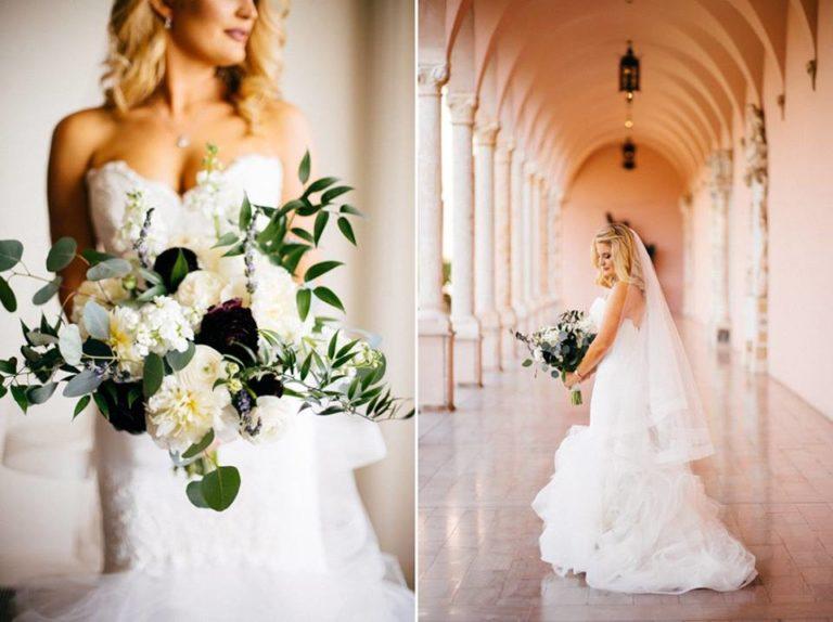 Ringling Museum Wedding Bride