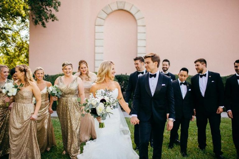 Ringling Museum Wedding party