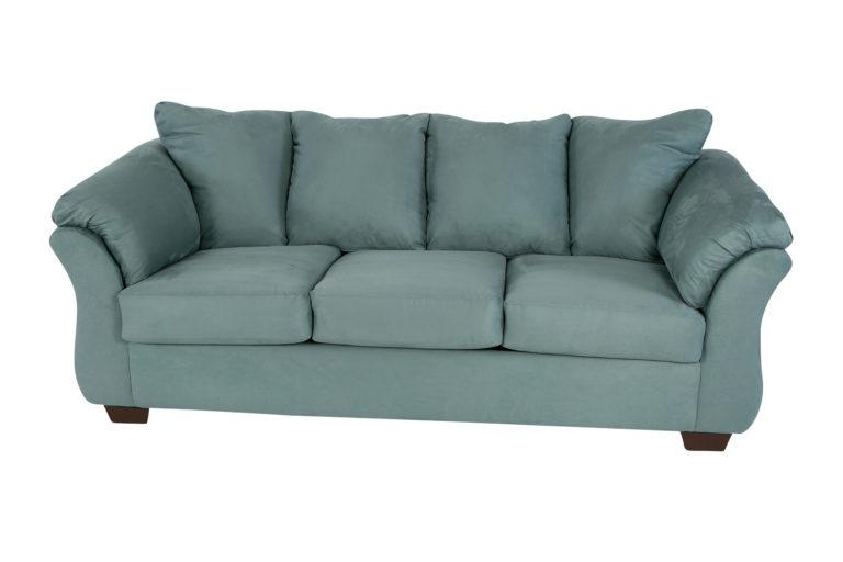 Shay Turquoise Sofa